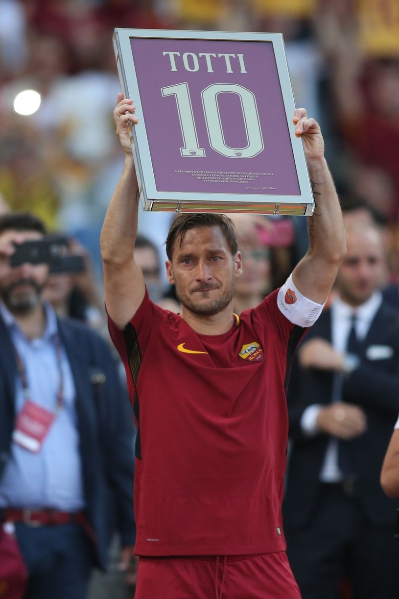 Francesco Totti żegna się z Romą /shutterstock /East News