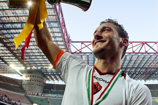 Francesco Totti /MATTEO BAZZI    /PAP/EPA