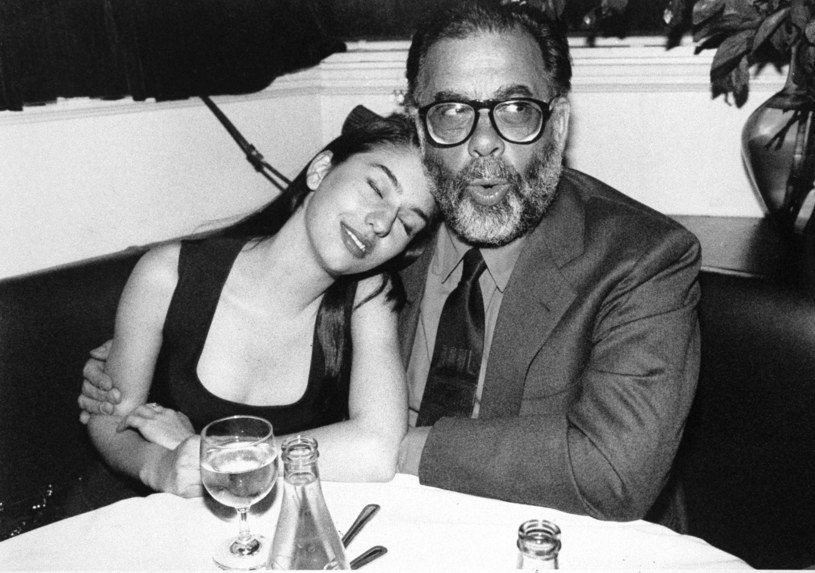 "Francis Ford Coppola i jego córka Sofia Coppola na przyjęciu z okazji premiery filmu ""Ojciec chrzestny III"" /Richard Corkery/NY Daily News Archive /Getty Images"