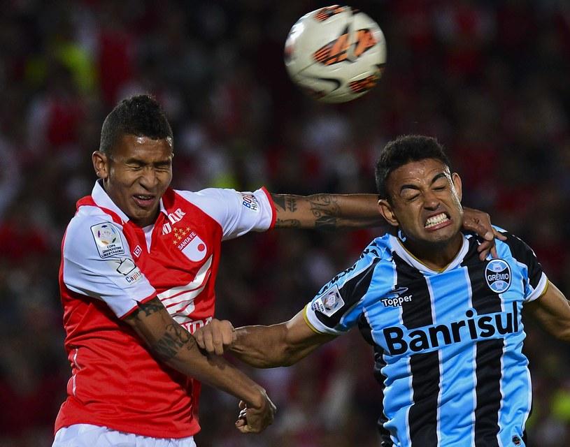 Francisco Meza (z lewej) z Independiente Santa Fe /AFP
