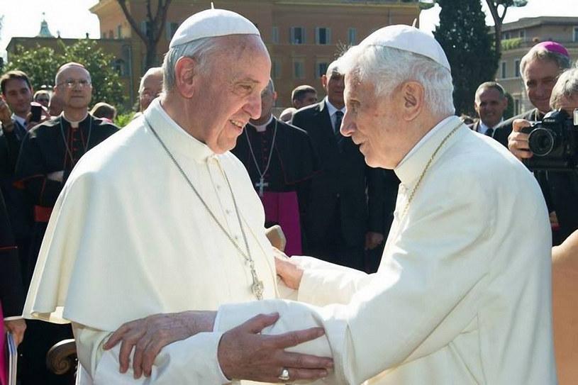 Franciszek i Benedykt XVI /Laski Diffusion /East News