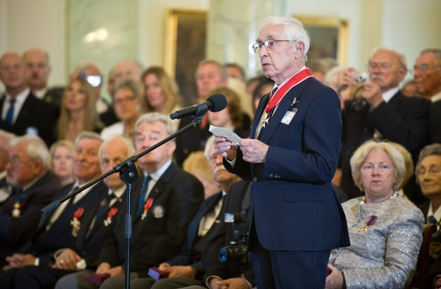 Franciszek Kornicki został w 2011 roku odznaczony Krzyżem Komandorskim Orderu Odrodzenia Polski /Bartosz Krupa /East News
