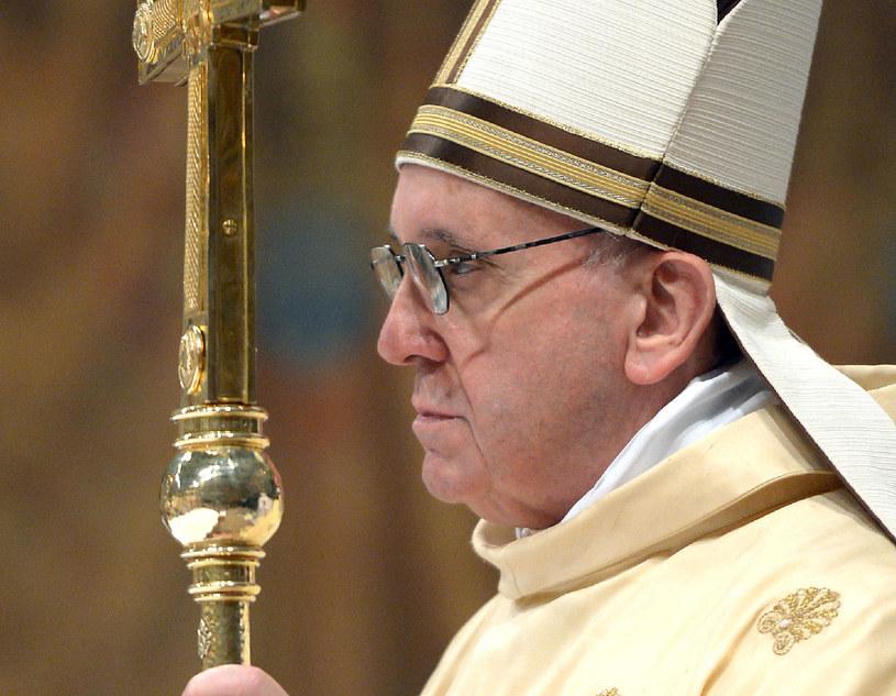 Franciszek odprawia mszę w Watykanie, 14 marca 2013 /OSSERVATORE ROMANO  /AFP