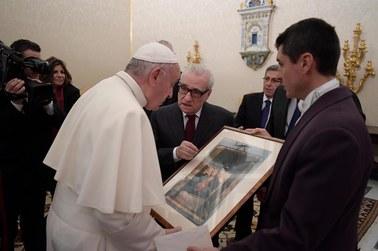 Franciszek przyjął Martina Scorsese na prywatnej audiencji
