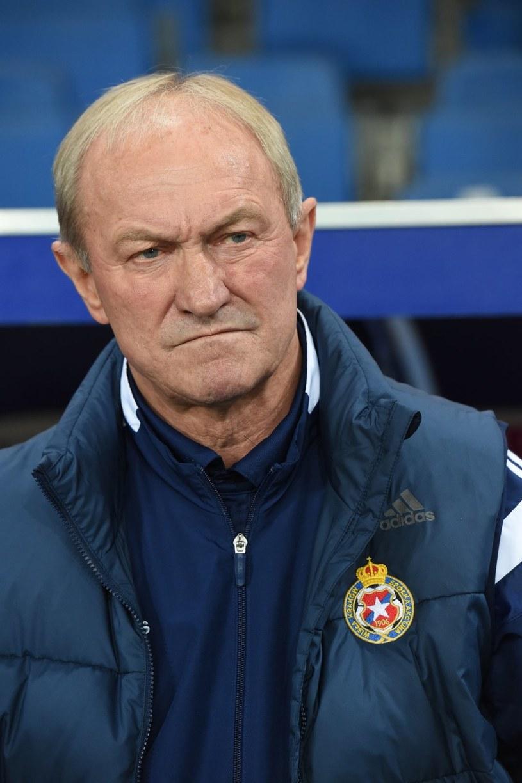 Franciszek Smuda, trener Wisły Kraków /Jacek Bednarczyk /PAP