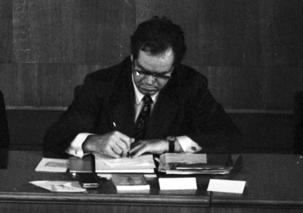Franciszek Szlachcic przekonywał do zjednoczenia organizacji akadamickich /Z archiwum Narodowego Archiwum Cyfrowego