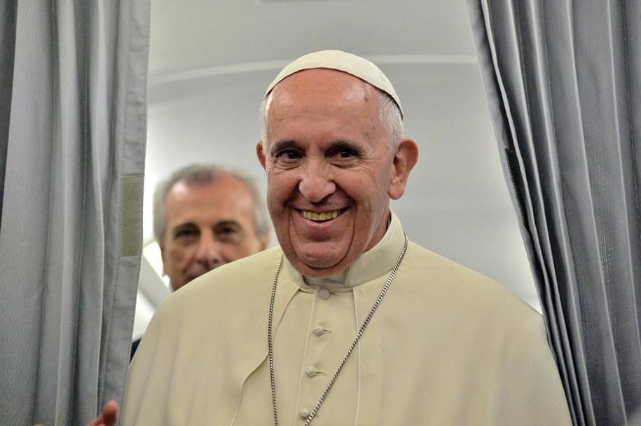 Franciszek wraca do Watykanu z Sarajewa /LUCA ZENNARO /PAP/EPA
