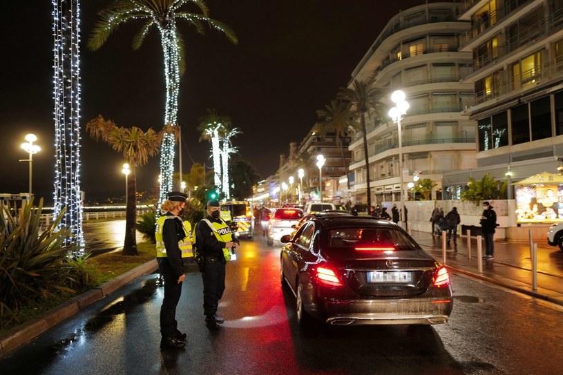 Francja: Godzina policyjna w Nicei /AFP
