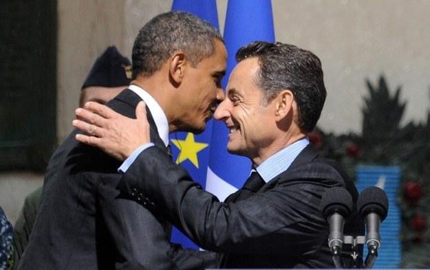 Francja i USA to sojusznicy - czy pomimo tego wywiad amerykański szpiegował byłego prezydenta? /AFP