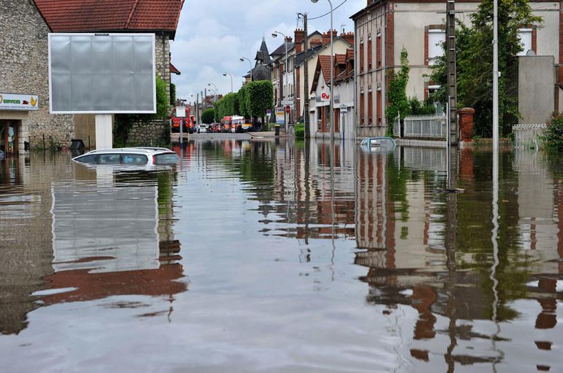 Francja pod wodą /AFP