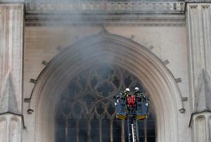 Francja: Pożar katedry w Nantes