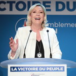 Francja: Triumf partii Le Pen, LREM Macrona na drugim miejscu