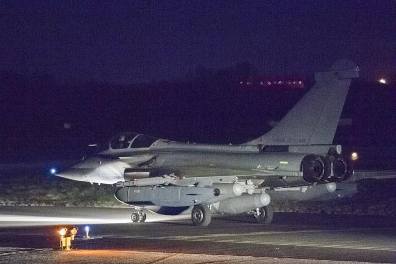 Francja, USA i Wlk, Brytania zaatakowały cele w Syrii /ECPAD  /PAP/EPA