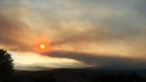 Francja w ogniu. Płoną lasy w okolicy miejscowości Saint-Tropez