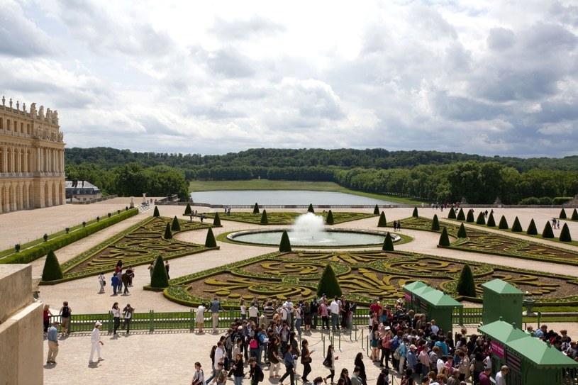 Francja, widok z pałacu na ogrody wersalskie /Woody Ochnio /Agencja FORUM