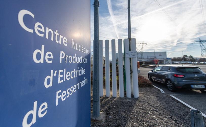 Francja zamyka swoją najstarszą elektrownię jądrową w Fessenheim nad Renem /EPA