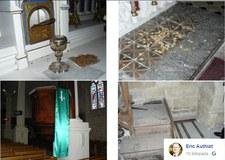 Francja: Zbezczeszczono kościół w Charente-Maritime