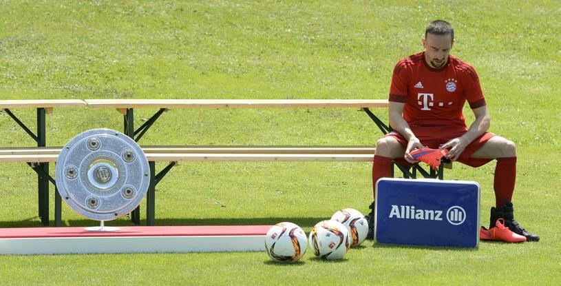 Franck Ribery, gwiazda Bayernu Monachium /AFP