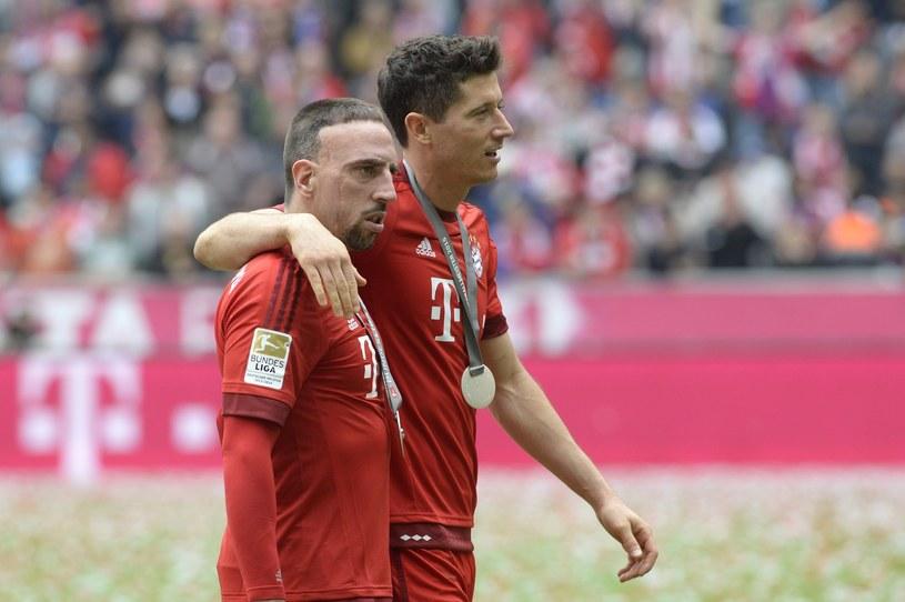 Franck Ribery nie wystąpi we wtorkowym meczu w Atenach /AFP