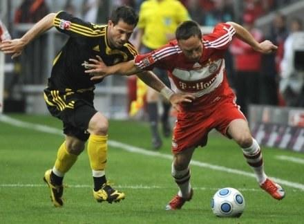 Franck Ribery odrzucił propozycję klubu z Monachium /AFP