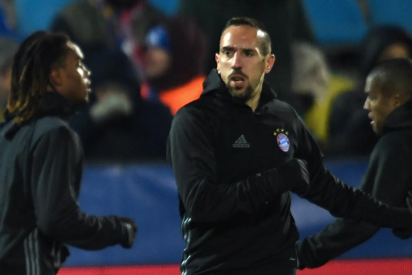 Franck Ribery przed meczem Bayernu Monachium w Rostowie /AFP
