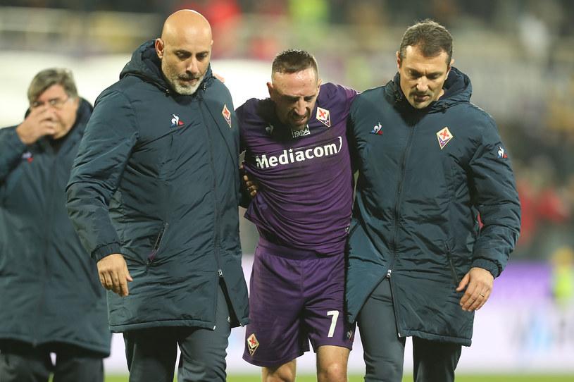 Franck Ribery (w środku) /Gabriele Maltinti /Getty Images