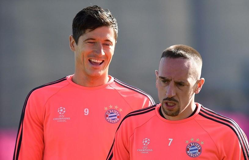 Franck Ribery znalazł się w drużynie marzeń Roberta Lewadnowskiego /AFP