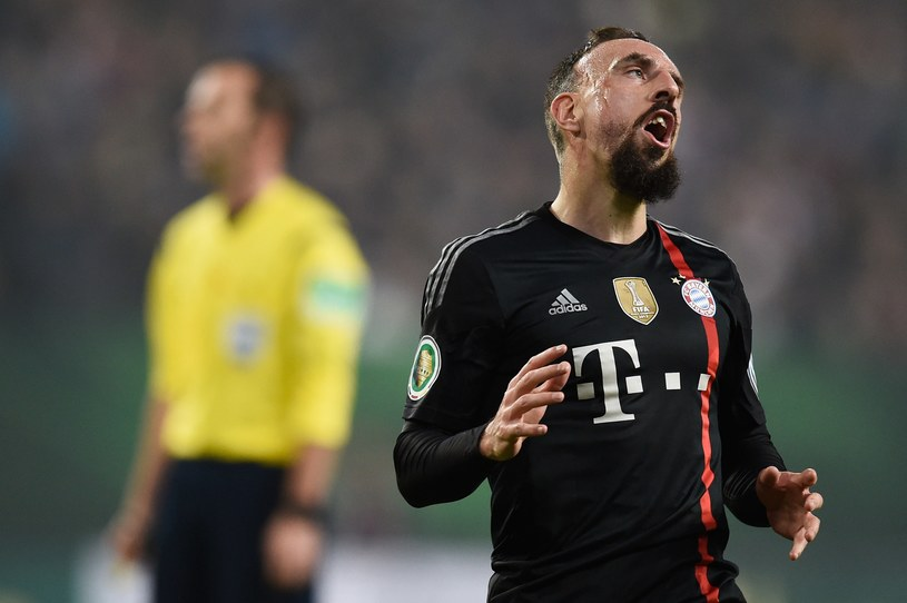Franck Ribery został zaatakowany przez kibica HSV /AFP
