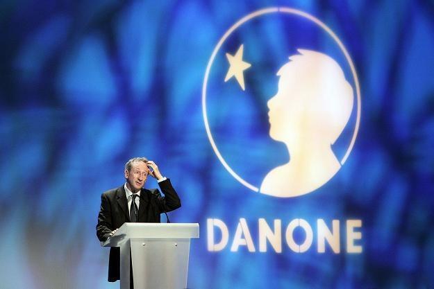 Franck Riboud, prezes Danone /AFP