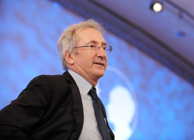 Franck Riboud, prezes Grupy Danone /AFP