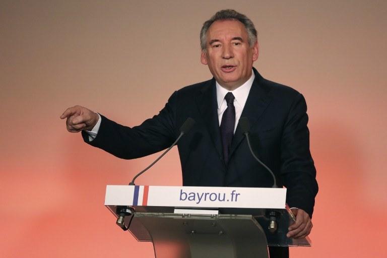 Francois Bayrou /AFP