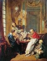 François Boucher, Śniadanie, 1739 /Encyklopedia Internautica