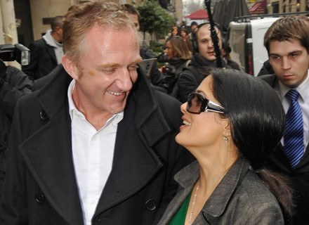 François-Henri Pinault i Salma Hayek /Getty Images/Flash Press Media