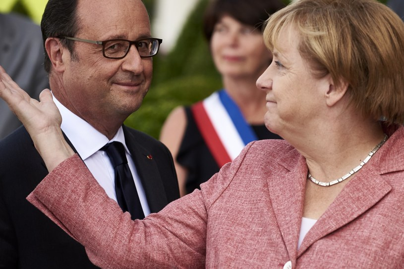 Francois Hollande i Angela Merkel /AFP