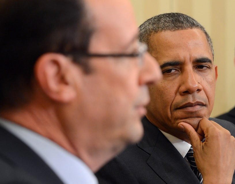 Francois Hollande i Barack Obama /AFP