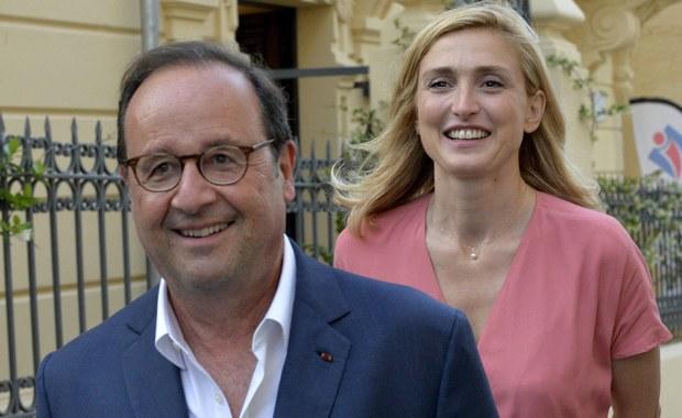 Francois Hollande i jego wybranka serca już się nie kryją
