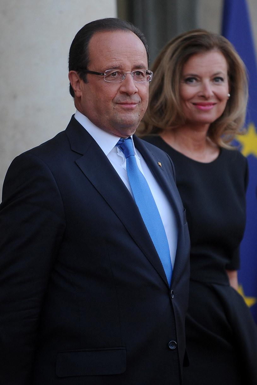 Francois Hollande i Valerie Trierweiler /Antoine Antoniol /Getty Images