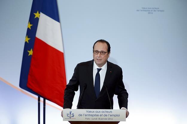 Francois Hollande, prezydent Francji, dzisiaj w Parzyżu /AFP