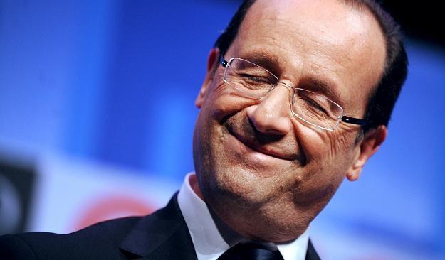 Francois Hollande, prezydent Francji /AFP