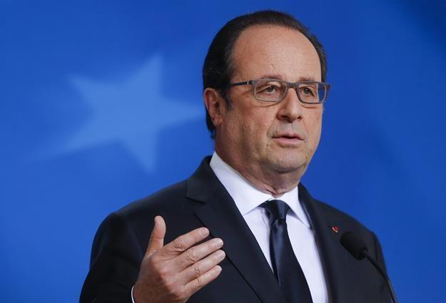 Francois Hollande, prezydent Francji /EPA