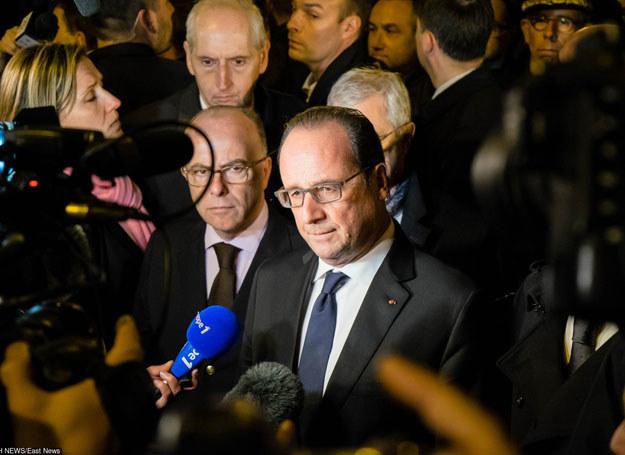 Francois Hollande zapowiedział bezwzględną walkę z terroryzmem /Fotogramma / Splash News/ /East News