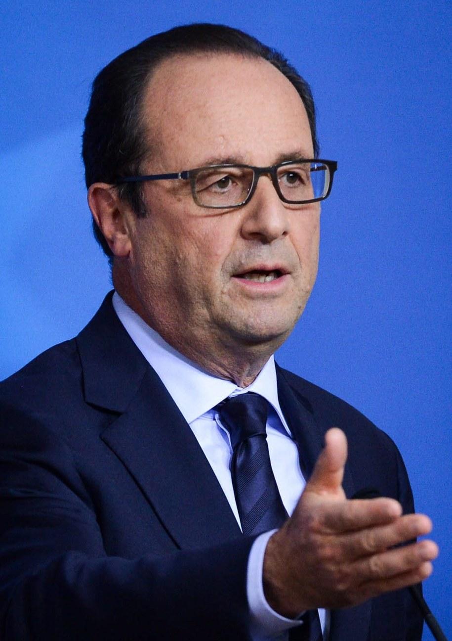 Francois Hollande /STEPHANIE LECOCQ (PAP/EPA) /PAP/EPA