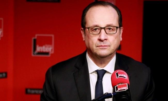 Francois Hollande /PAP/EPA/REMY DE LA MAUVINIERE / POOL /PAP/EPA