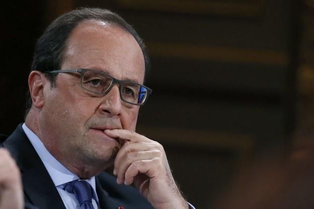 Francois Hollande /GONZALO FUENTES / POOL /PAP/EPA