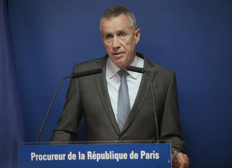 Francois Molins podczas konferencji prasowej /AFP