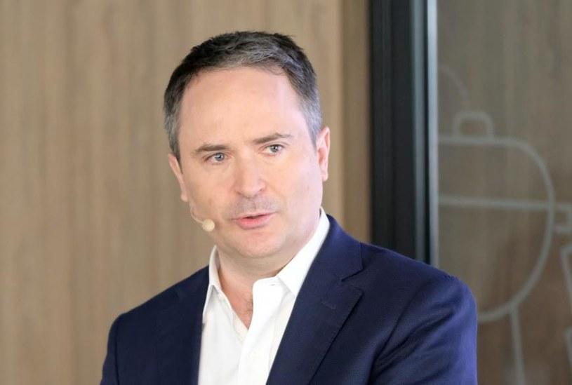 Francois Nuyts, prezes Allegro. Fot. Mateusz Grochocki East News /East News/Reporter