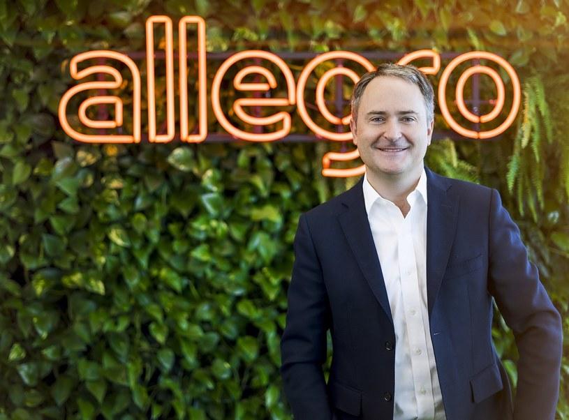 Francois Nuyts, prezes  Allegro /PAP