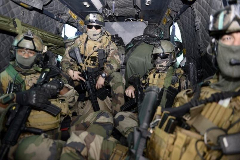 Francuscy komandosi w czasie operacji w Libii /Getty Images/Flash Press Media
