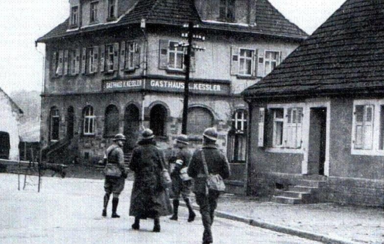 Francuscy żołnierze na terenie Niemiec w 1939 roku /INTERIA.PL/materiały prasowe