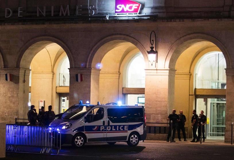 Francuska policja w Nimes /AFP